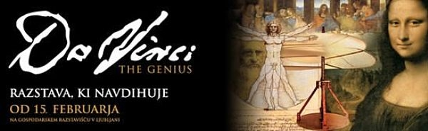 Exhibition Da Vinci - The Genius